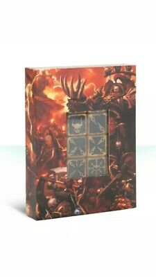 Warhammer 40k Chaos Space Marine Dice Set (20) *New in Box*Shrink Wrapped**