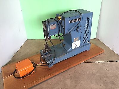 Vintage Autosplice Pin Insertion Machine w/ Foot Pedal Control