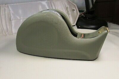Vintage Scotch Tape Dispenser Cast Iron Metal Whale Tail Industrial Office