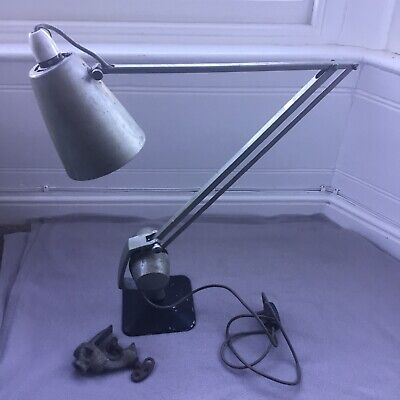 *Read description before buying* Vintage Hadrill and Horstmann desk lamp