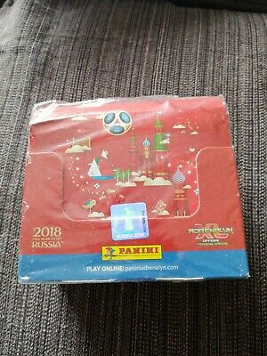 Panini ADRENALYN 2018 FIFA World Cup XL Trading Card, Caja Completa 50 sobres