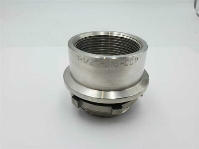 Calbrite Stainless 1 1/2 in. Hub 316-CCP  ( New Condition )
