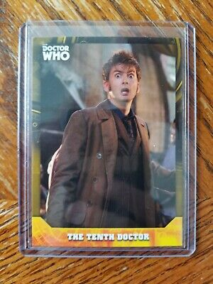 2017 Topps Doctor Who Signature Series David Tennant Tenth Dr GOLD 1/1 Card RARE