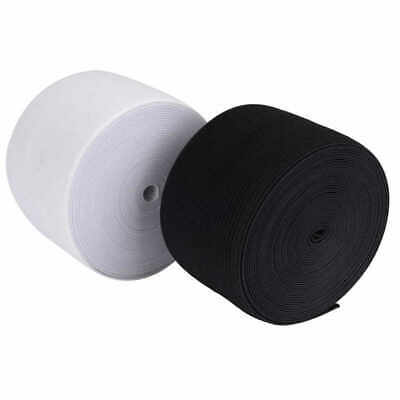 4mm 6mm Woven Flat Knitted Elastic SEWING ELASTIC CORD perfect for face mask