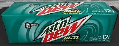 1 Full 12 Pack * Mountain Dew Baja Blast
