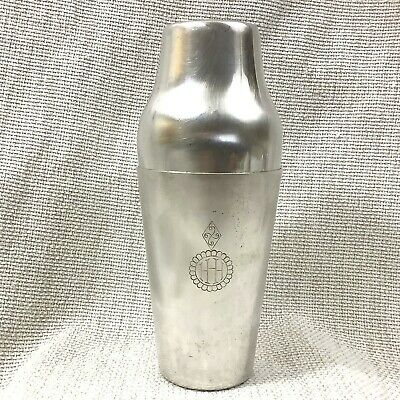 Christofle Silver Plated Large Cocktail Shaker Vintage French Mid Century Modern