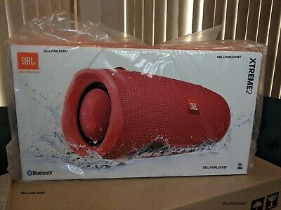 JBL Xtreme 2 Wireless Bluetooth Portable Speaker Waterproof IPX7 RED BRAND NEW