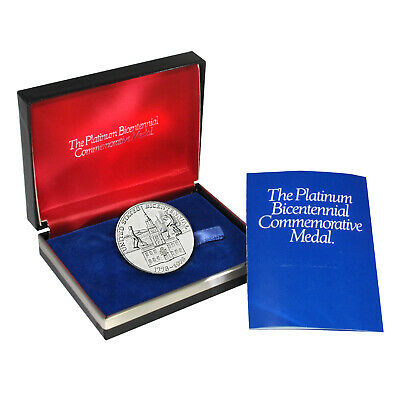 1976 U.S. Mint Bicentennial Platinum Proof Medal - SKU#69262