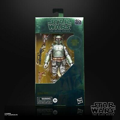 "Star Wars Black Series 6"" Carbonized Boba Fett ESB 40th Anniversary *PRE-ORDER*"