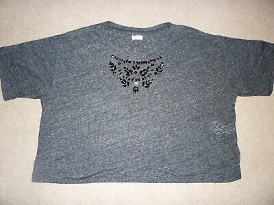 Girls Grey Hollister Top - Size Xs - Great Condition