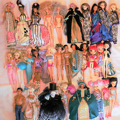 Fashion dolls-Barbie/Monster High/Liv/My Scene/etc- mixed lots of 1-2 dolls each