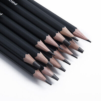 14PCS 6H-12H Artist Pencils For Drawing Painting Sketching Draw Tones Shades