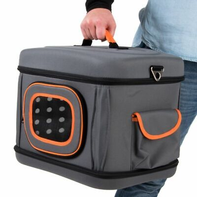 Small Pet Carrier Collapsible Transport Light Cats Dogs Strap Pocket Quality