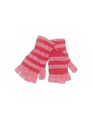 White House Black Market Women Red Mittens One Size