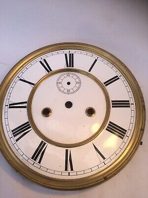 Double Weight White Vienna Dial & False Plate