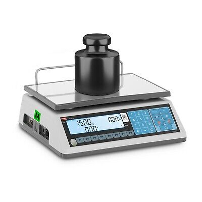Price Calculating Scale Price Computing Scale Weighing Calibrated 6Kg/2G-15Kg/5G