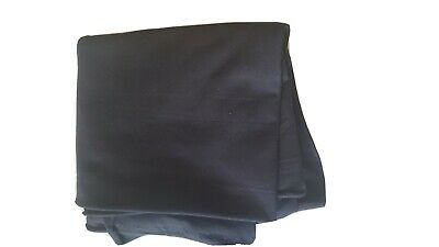 "60"" Wide Premium Cotton Blend Broadcloth Fabric by The Yard - BLACK"
