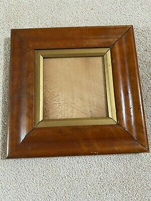 Antique Birds Eye Maple Picture Frame 1850 - 1900 Nice Example