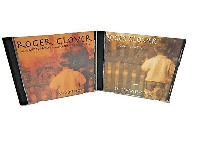 Roger Glover & The Guilty Party Promo&Interview CD RARE Deep Purple Rainbow VG+