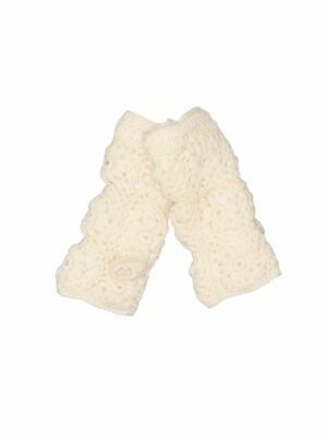 Unbranded Women Ivory Mittens One Size