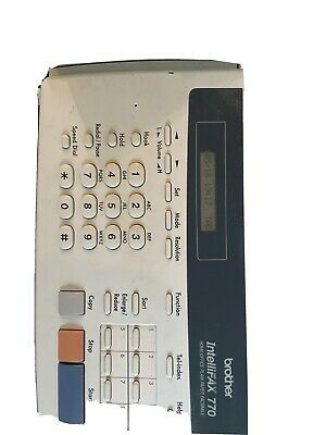 Brother Fax Machine 770 With 6 Cartridges