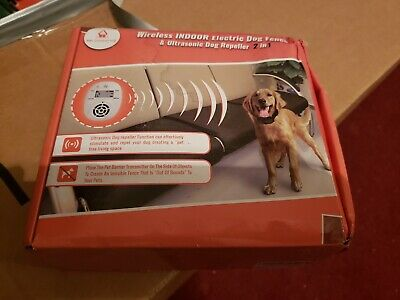 Pet Control HQ|Indoor Dog Wireless Electric Fence/Pets Deterrent Radio Keep Off