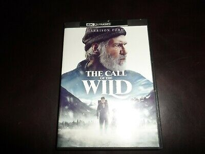 The Call of the Wild 4K UHD 2020 NEVER WATCHED *Please Read*
