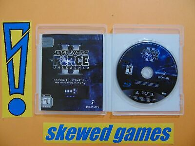 Star Wars The Force Unleashed II - 2 - cib - Mint - PS3 PlayStation 3 Sony
