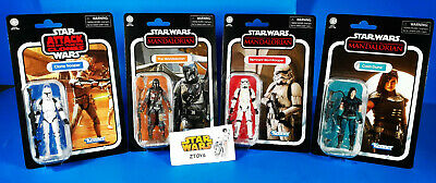Star Wars Vintage Collection💥MANDALORIAN WAVE 3💥Lot/4✅MANDO✅REMNANT✅CARA✅CLONE