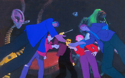 AMERICAN POP: ORIGINAL RALPH BAKSHI PRODUCTION CELS + Free Autograph