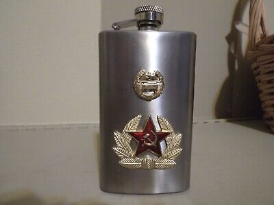Russian Stainless 5Oz. Flask