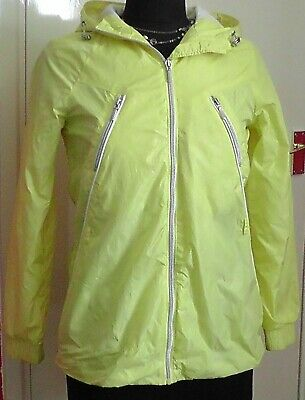 Preloved Girl's Lightweight Lemon Summer Jacket Age 12 By Geox Good Condition