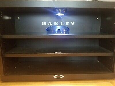 Custom tap led Oakley Sunglasses  display Case Stand Fits 12-18 shades