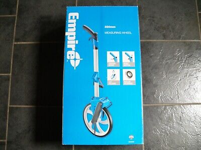 Empire Folding Measuring Wheel 320mm with Carry Bag