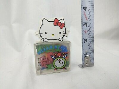 Vintage 1976 Sanrio Hello Kitty Paperclips School Character Paper Clips Japan