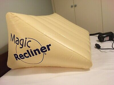 'Magic Recliner' inflatable bed wedge