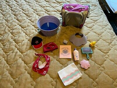 American Girl Lot Dog Clothes Accessories NEW