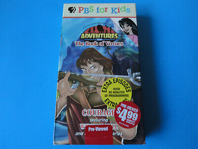 Courage Featuring William Tell - Pbs Kids Adventures (Blockbuster Video Vhs)
