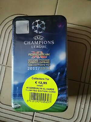 Panini Adrenalyn XL Champions League 12 Collectors tin (8 SOBRES + 1 LIMITED )