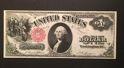 SCARCE 1880 $1 US Legal Tender Note Large Size XF+ Nice Crisp Note