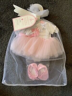 Pottery Barn Kids Doll Prima Ballerina Outfit NEW! Unwanted Gift $54