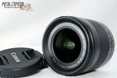 [TOP MINT] Canon EF-M 11-22mm f/4.0-5.6 STM IS Lens from JAPAN (M459-2)