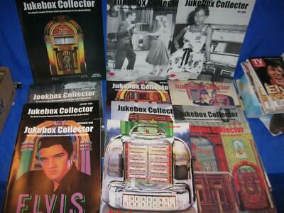 12 Each 1999 Jukebox Collector Magazines