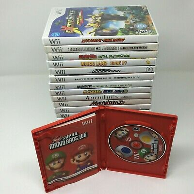 Nintendo Wii Games with Original Cases *Choose Your Game*