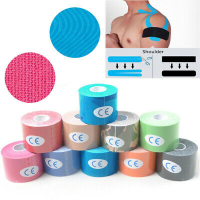 Proworks 5m Kinesiology Tape   Sports Physio Knee Shoulder Body Muscle Support