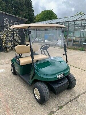 2015 Ezgo Txt Electric Golf Buggy Covered 230 Hours Good Batteries And Charger