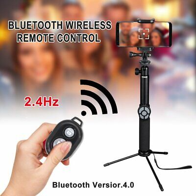 Bluetooth Remote Control Camera Selfie Shutter Stick for iphone Android Phone TR