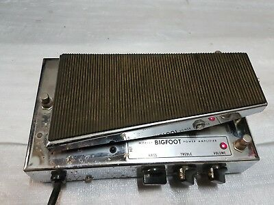 MORLEY BIG FOOT POWER AMP - made in USA