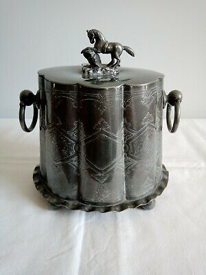 Mid To Late 19th C. Sugar Container In electro plate Nice Condition Very...