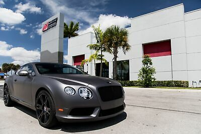 2013 Bentley Continental GT V8 2013 CONTINENTAL GT - ONLY 16K MILES - WELL MAINTAINED - PROFESSIONAL WRAP